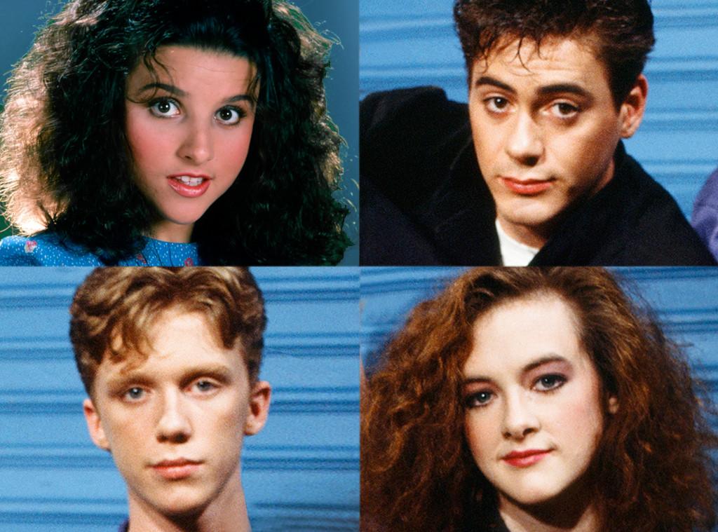 Julia Louis-Dreyfus, Robert Downey Jr., Joan Cusack, Anthony Michael Hall, Saturday Night Live