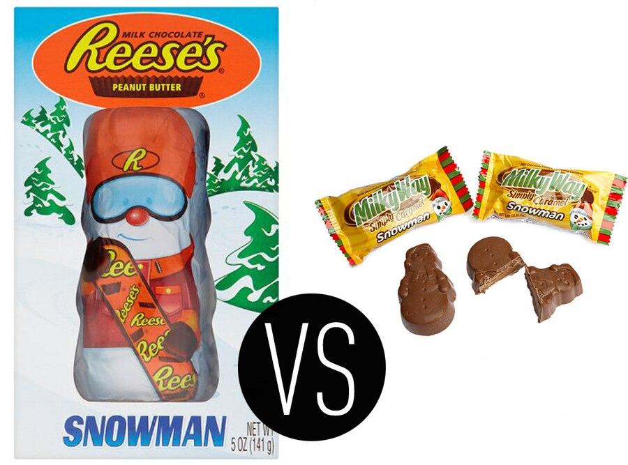 Holiday Shaped Chocolates