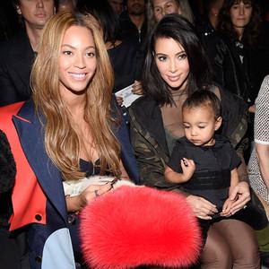 Beyonce, Kim Kardashian, North West