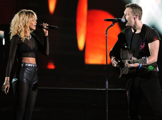 Rihanna, Coldplay
