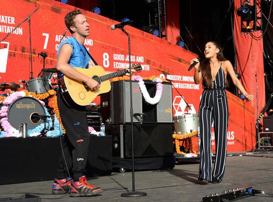 Coldplay, Ariana Grande