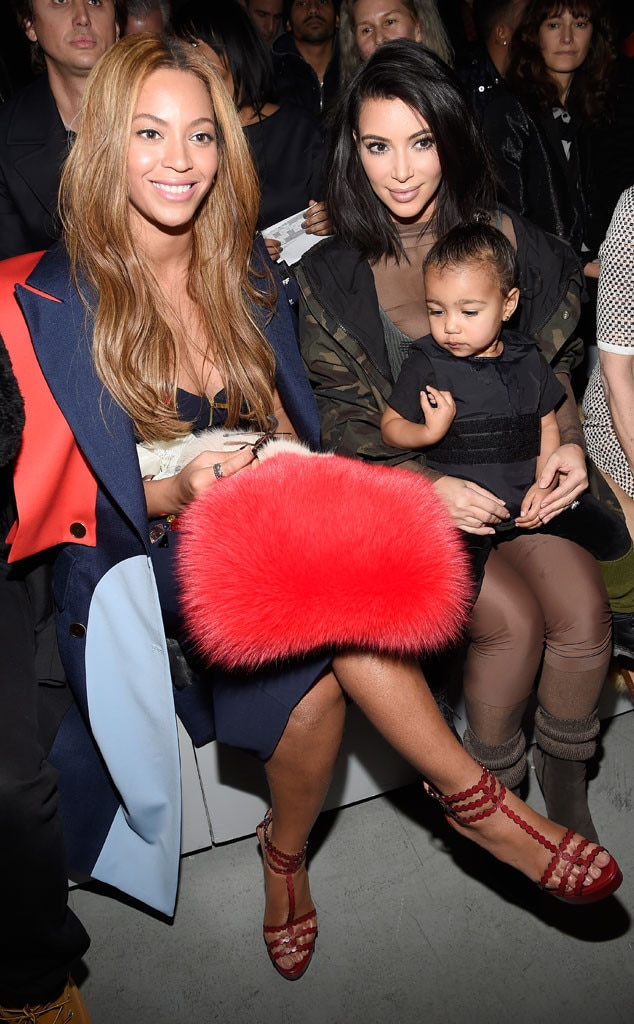 Beyonce, Kim Kardashian, North West