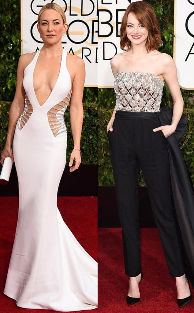 Most Stylish Celeb, Kate Hudson, Emma Stone