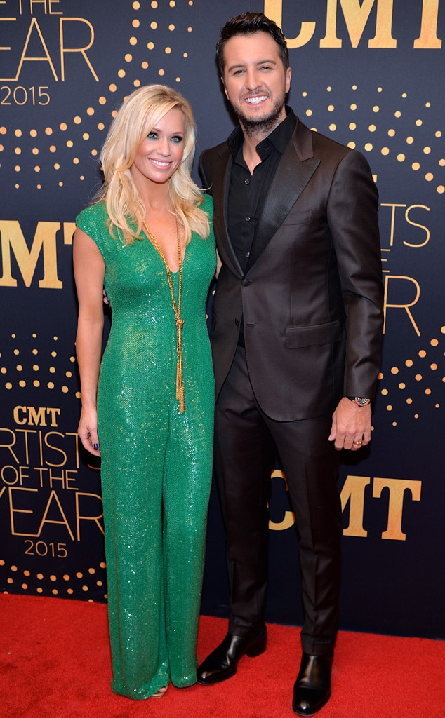 Luke Bryan, Caroline Boyer, CMT Artists of the Year 2015