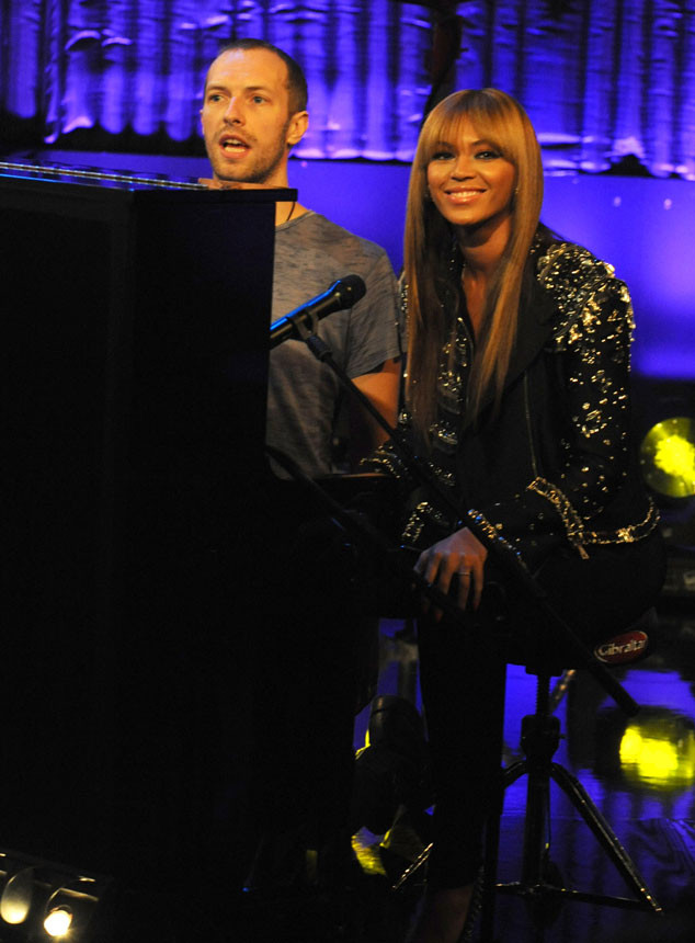 Chris Martin, Beyonce