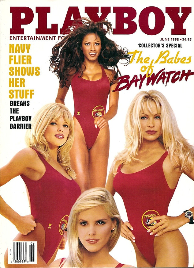 June 1998 from Pamela Andersons Playboy Covers | E! News