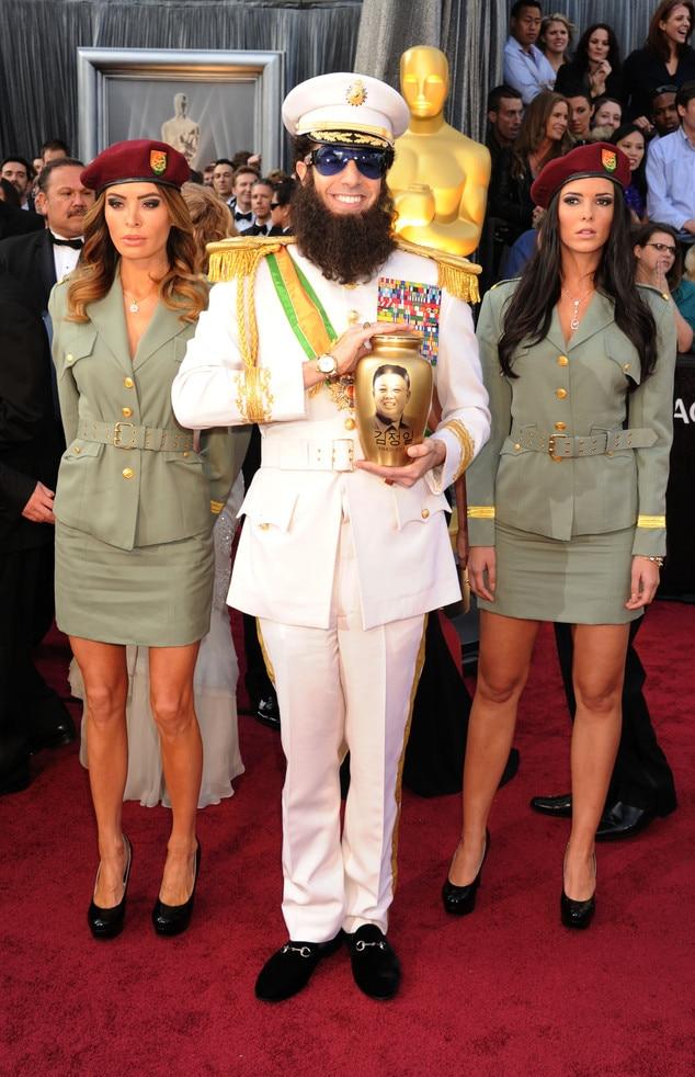 Sacha Baron Cohen, Oscars, 2012