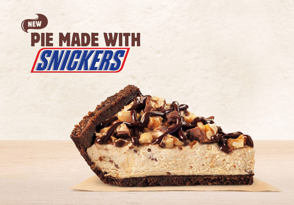 Fast Foods, Snickers pie from Burger King