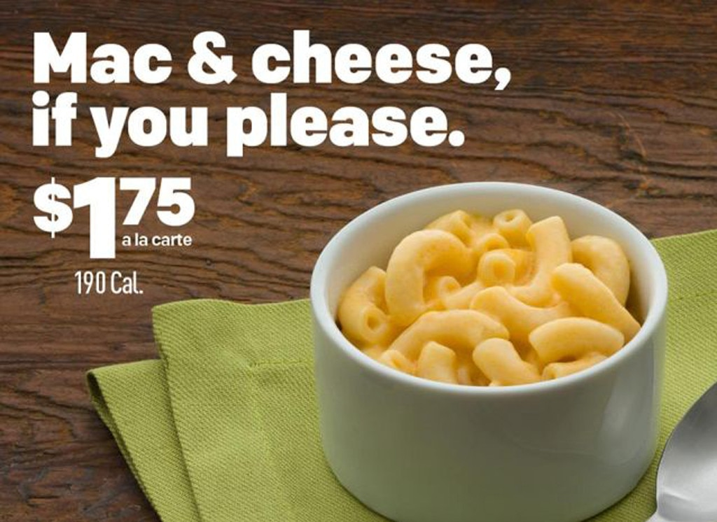 Fast Foods, McDonald's Mac and Cheese
