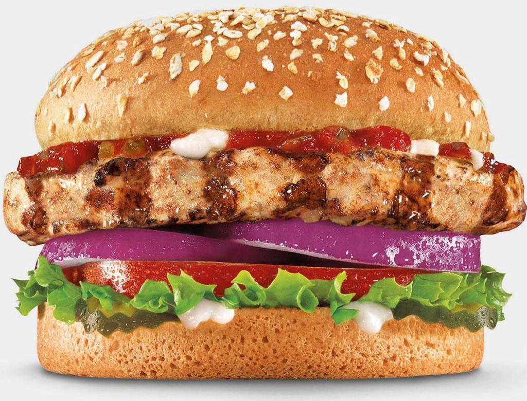 Fast Foods, Carls Jr. organic turkey burger