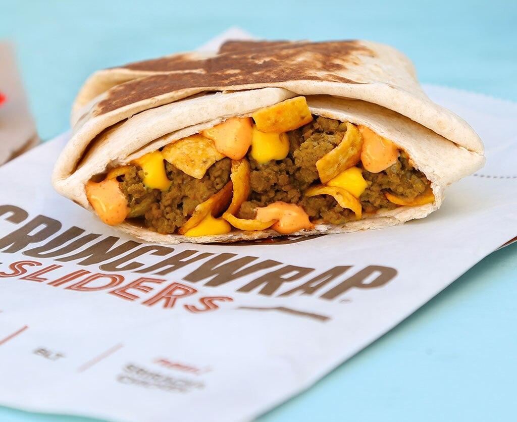Fast Foods, Taco Bell Crunchwrap Sliders