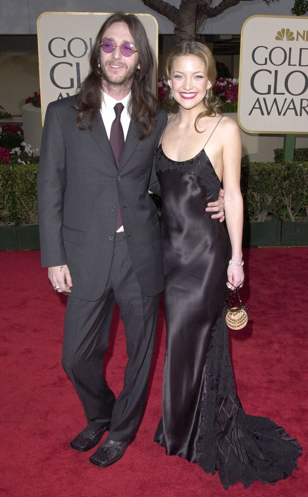 Flashback: Couples at the Golden Globes, Kate Hudson, Chris Robinson