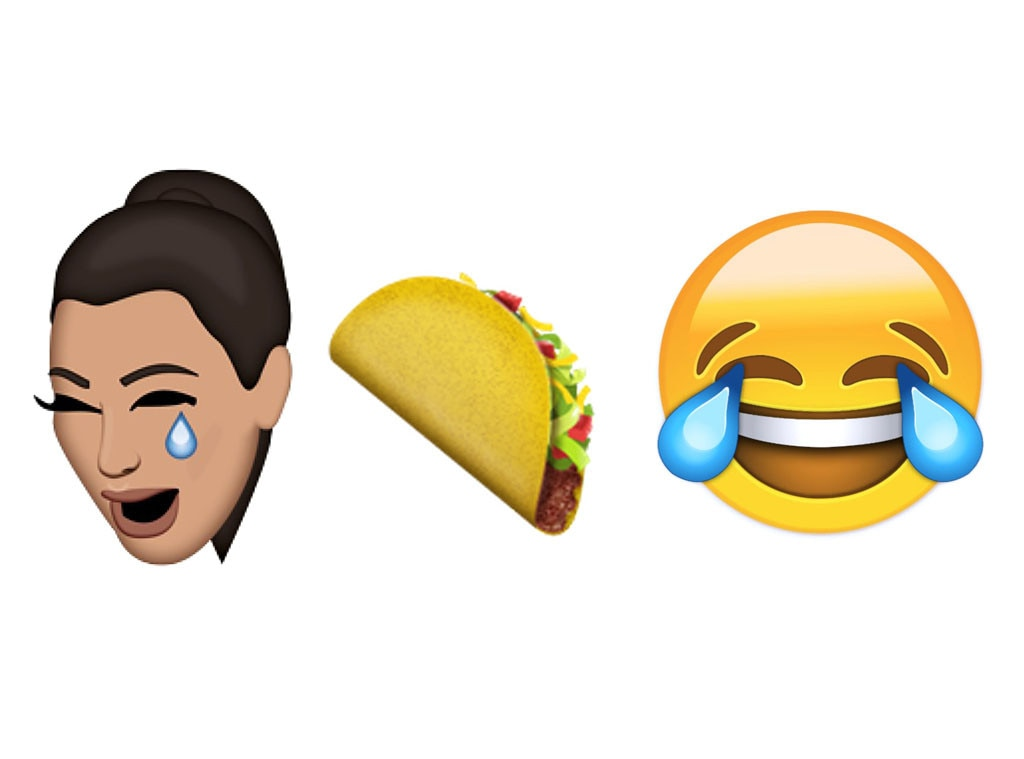 Kimoji, Taco Emoji, Laughing While Crying Emoji