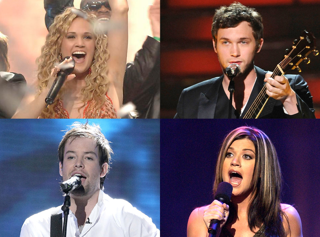 Ranking American Idol Winners