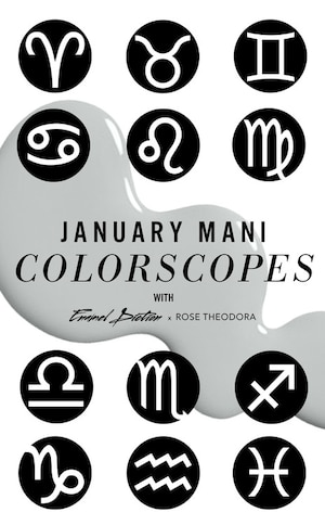 ESC, Astrology Nails January