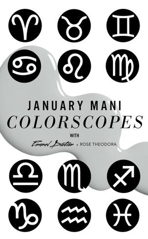ESC, Astrology Nails January