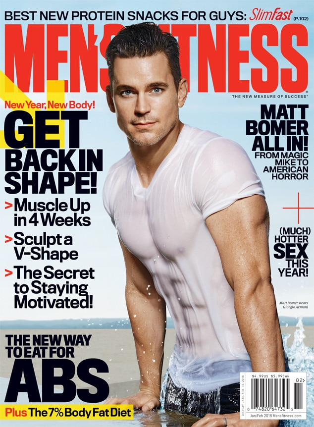 Matt Bomer, Men's Fitness