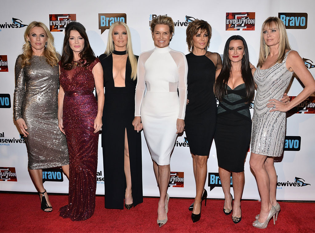 Real Housewives of Beverly Hills, Kathryn Edwards, Lisa Vanderpump, Erika Girardi, Yolanda Foster, Lisa Rinna, Kyle Richards, Eileen