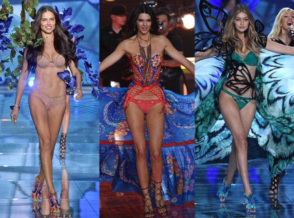 Adriana Lima, Gigi Hadid, Kendall Jenner