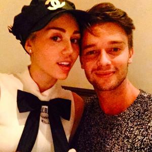 Miley Cyrus, Patrick Schwarzenegger, Instagram