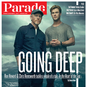 Ron Howard, Chris Hemsworth, Parade