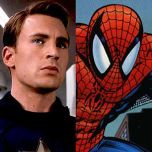 Spiderman, Captain America