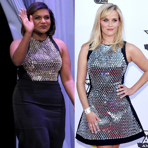 Mindy Kaling, Reese Witherspoon, David Koma