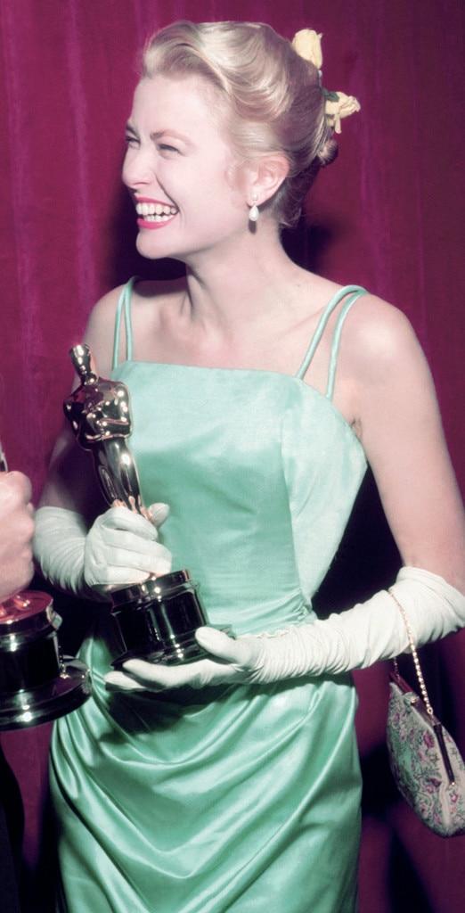 Grace Kelly, Oscars, Dresses, 1955