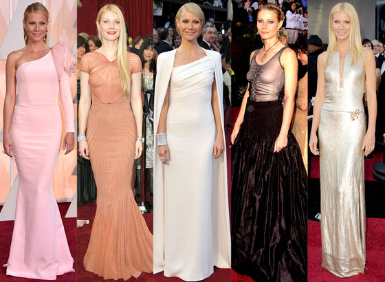 Gwyneth Paltrow, Oscars, Dresses