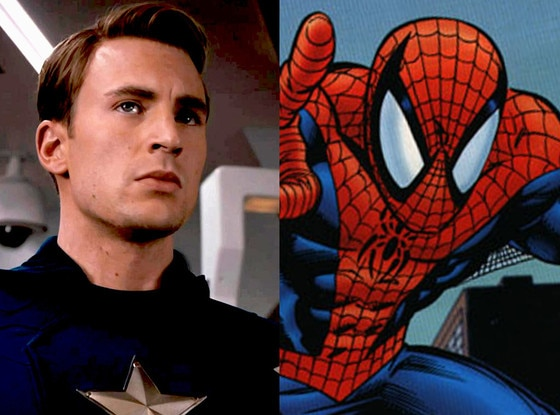 Spiderman, Captain America