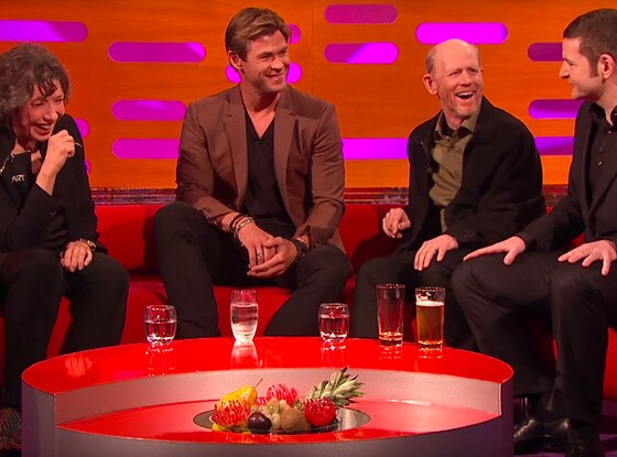 Chris Hemsworth, The Graham Norton Show