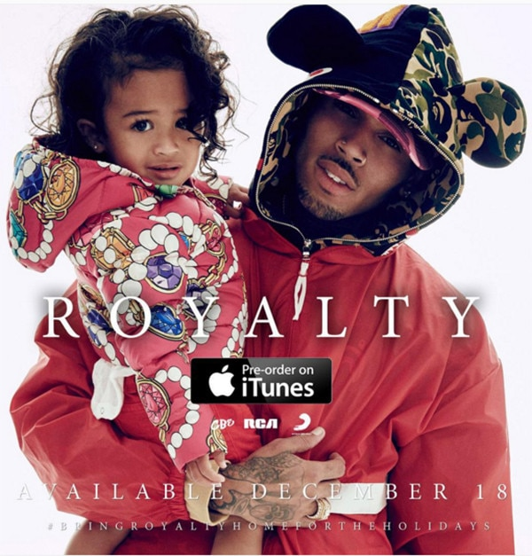 Chris Brown, Royalty, Daughter, Album Promo