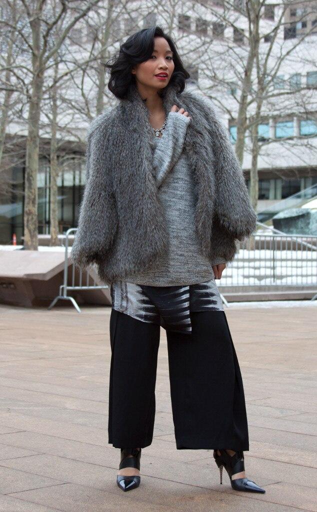 Nika Diwa From Street Style At New York Fashion Week Fall 2015 E News