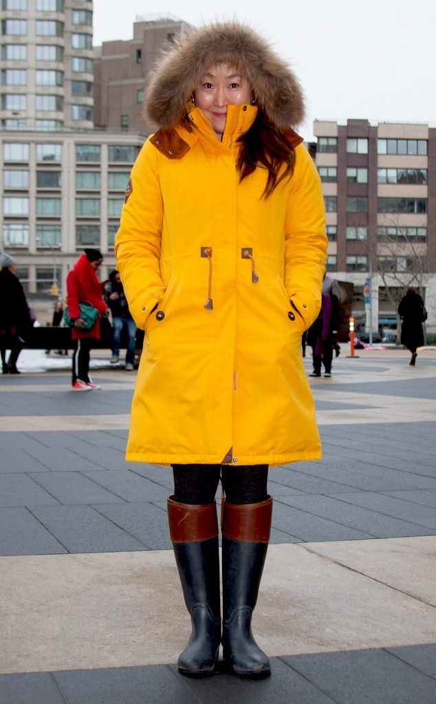 Sora Lee From Street Style At New York Fashion Week Fall 2015 E News