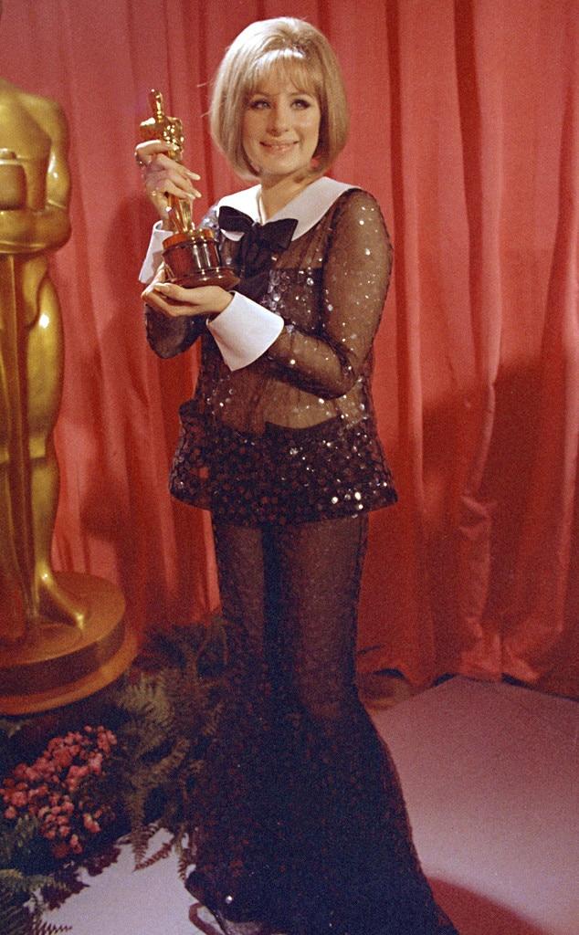 Barbra Streisand from 50 Years of Oscar Dresses: Best ...