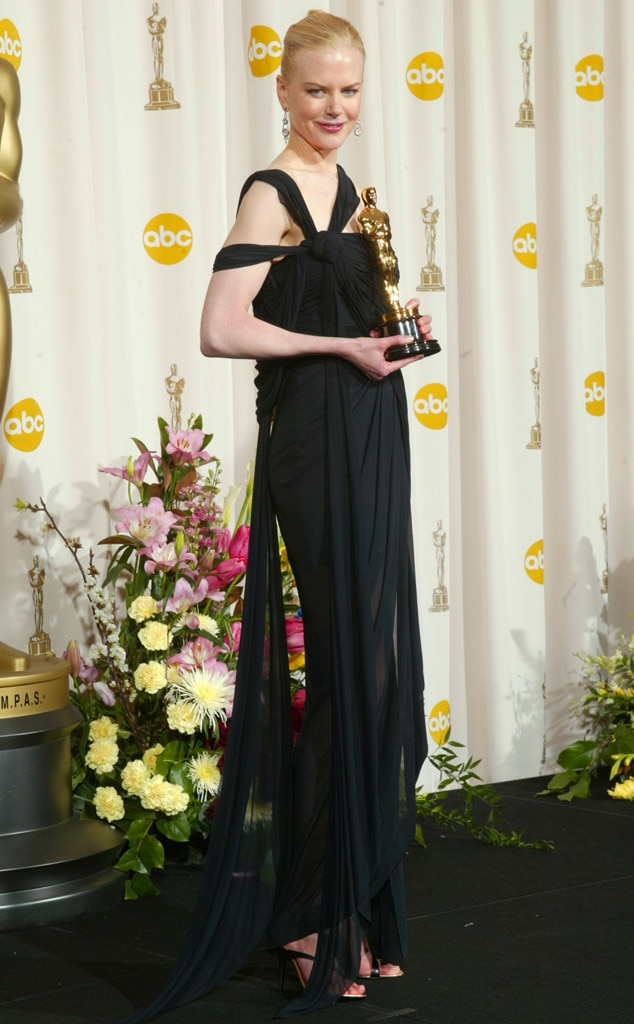 nicole kidman from 50 years of oscar dresses best actress