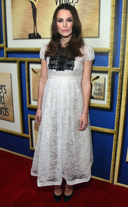 Keira Knightley, Writers Guild Awards