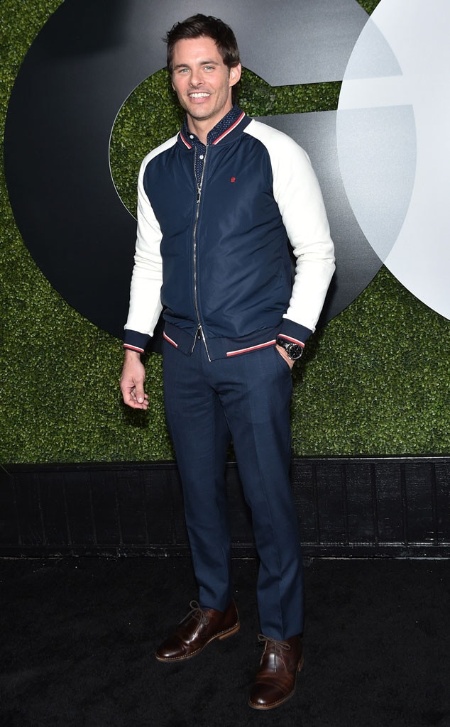 James Marsden from 2015 GQ Men of the Year Party