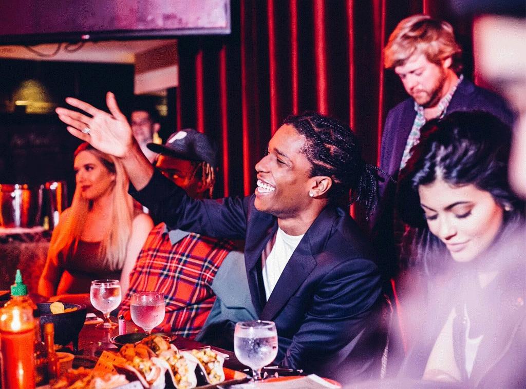 Kylie Jenner, A$AP Rocky, Art Basel 2015