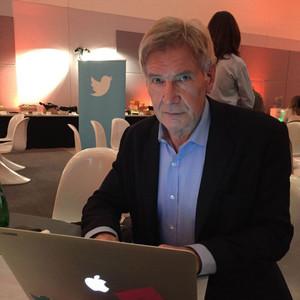 Harrison Ford, Twitter