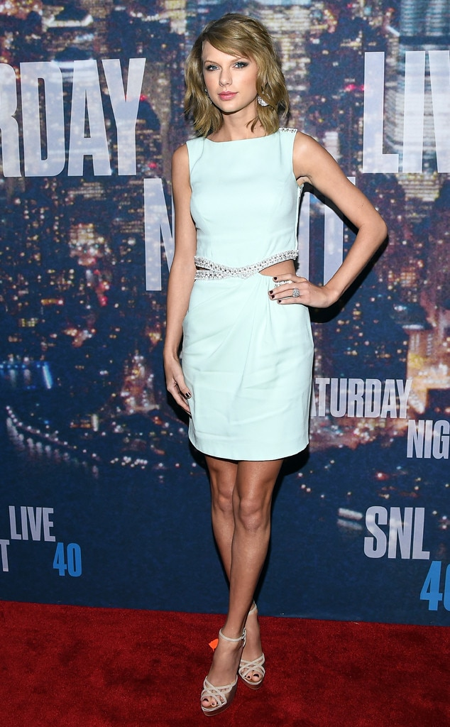 Taylor Swift, SNL 40th Anniversary Celebration