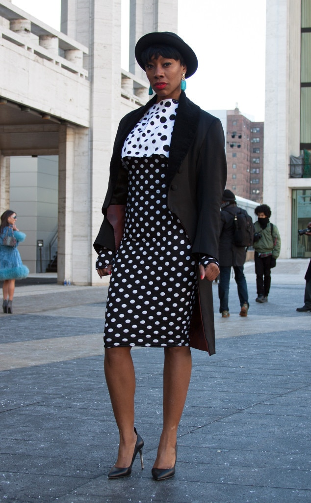Char Glover From Street Style At New York Fashion Week Fall 2015 E News