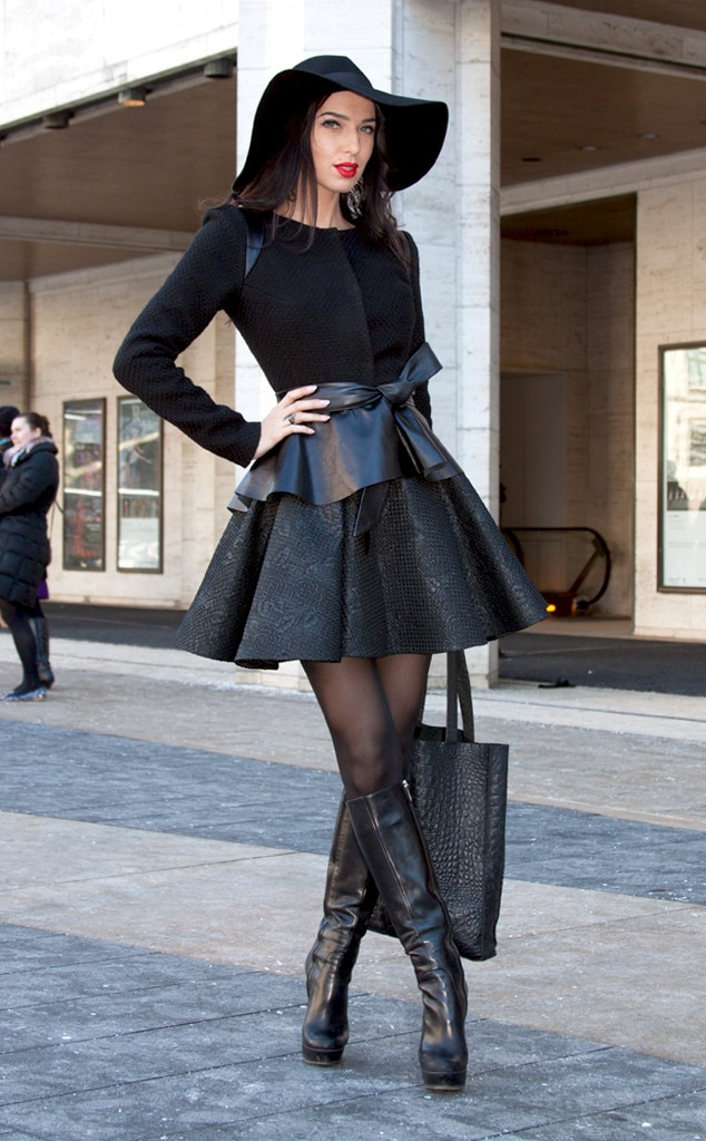 Christina berezhneve from street style at new york fashion week fall 2015 e news Street style ny fashion week fall 2015