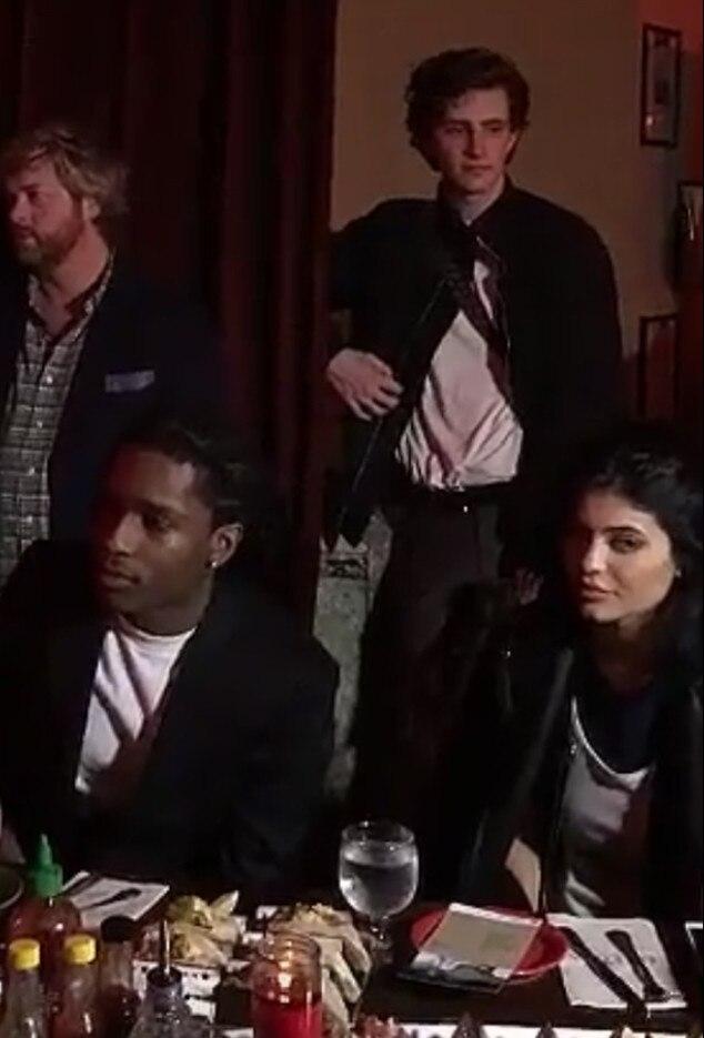 Kylie Jenner, A$AP Rocky, Dinner