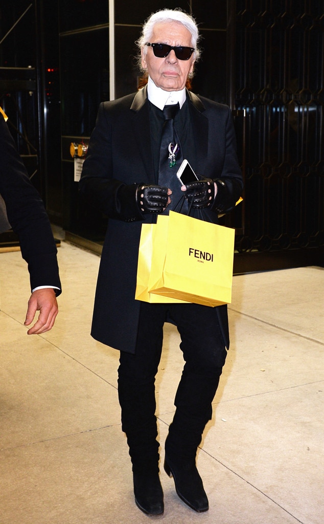 Karl Lagerfeld, NYFW
