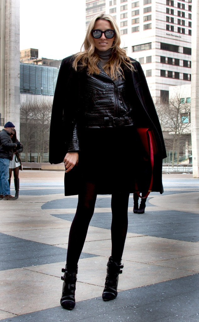Lisa Dicicocalve From Street Style At New York Fashion Week Fall 2015 E News