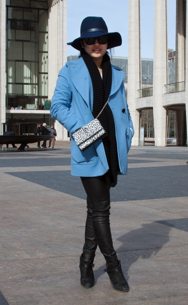 Patricia Hui From Street Style At New York Fashion Week Fall 2015 E News