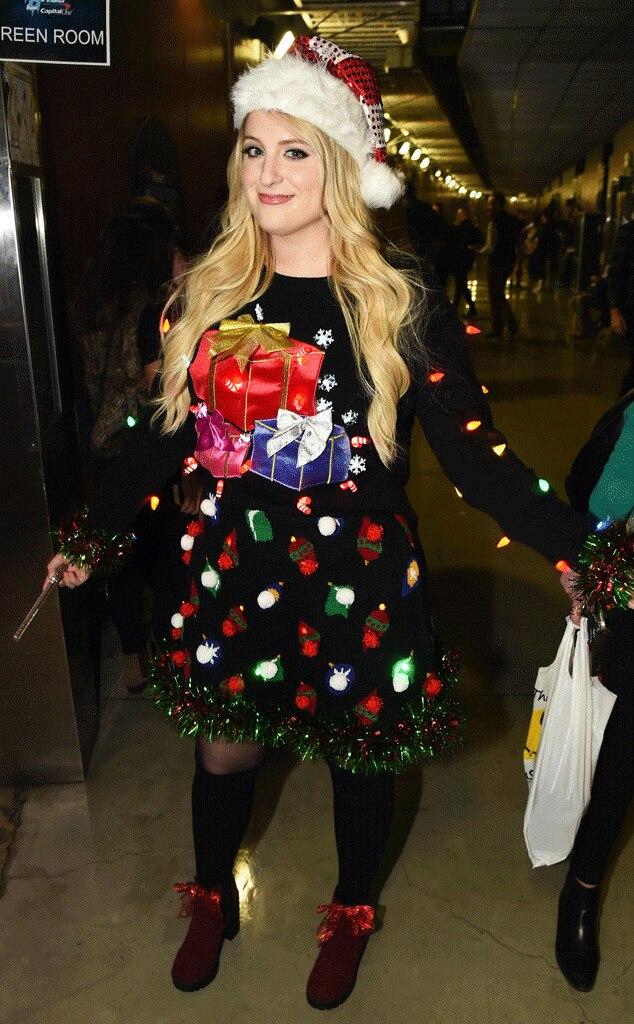 Meghan Trainor from Stars Celebrate Christmas 2015 | E! News