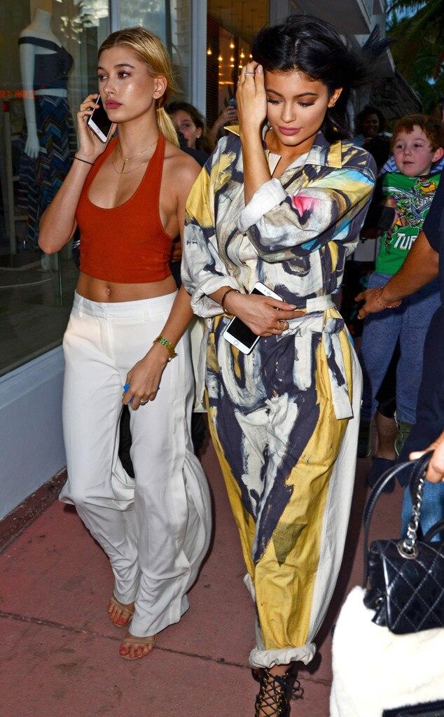 Kylie Jenner, Hailey Baldwin