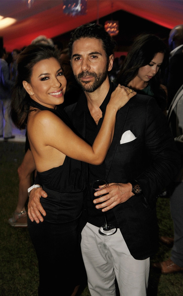 Eva Longoria, Jose Antonio Baston, Art Basel 2015